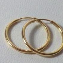 Aros Argollas Argolla De Oro 18 K