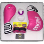 Kit Boxe Muay Thai Kickboxe Mma Luta Luva Bandagem Bucal