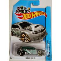 Carrinho Hot Wheels Subaru Wrx Sti - T Hunt - Coleção 2014