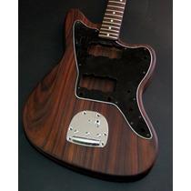 Guitarra Jazzmaster All Rosewood - Corpo E Braço