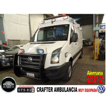 2012 Crafter Ambulancia Nivel Traslados, En Perfecto Estado