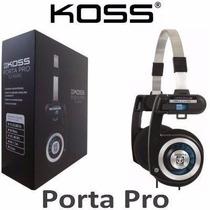 Fone De Ouvido Koss Porta Pro Original Retorno On Ear Palco