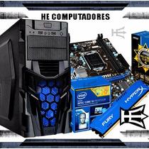 Kit H81 + Processador Intel I3 4170 + 4gb Hyperx + Gabinete