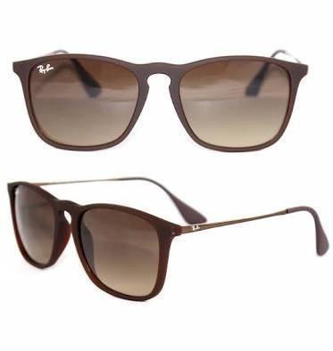 4b5110f46 Óculos Rayban Chris 4187 Feminino E Masculino Quadrado - R$ 329,00 em  Mercado Livre