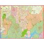 Mapa Gigante Da Região Do Grande Abcd - Tam 0,90 X 1,20