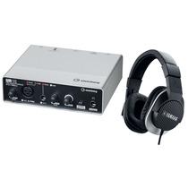 Paquete Grabación Yamaha Ur12 Y Hph-mt220