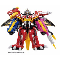 Power Ranger Dino Charge - Dino Charge & Ptera Megazords