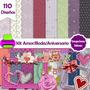 Kit Imprimible Amor Aniversario Tarjetas Fondos Clipart