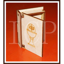 Cajas Libro Para Comunión En Laser