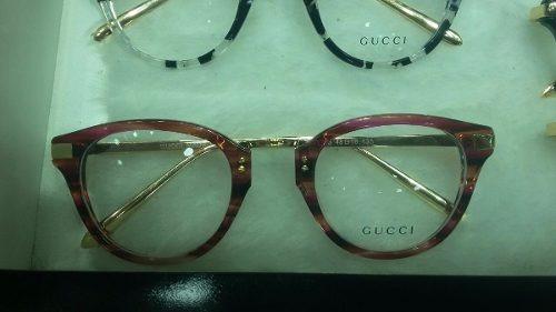 8a3d11953eb71 7a5dba0b143186  Armação Gucci Óculos De Grau Acetato Feminino Lindo - R  149,90 em Mercado Livre ...