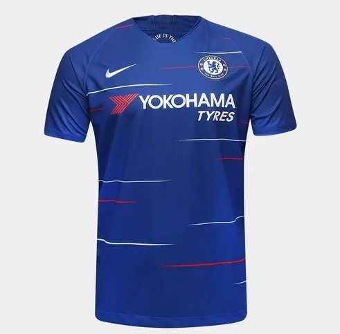 Camisa Chelsea Home 2018-19 Masculino Importados Lançamento - R  140 ... cf4635098b4d3