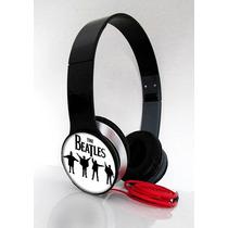 Fone Headphone Rock - The Beatles - Smartphone, Celulares