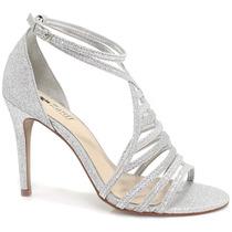 Sandália Zariff Shoes Noiva Brilhantes | Zariff