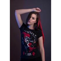 Arriba Las Manos, Mascara De Látex Mujer, Harley Quinn