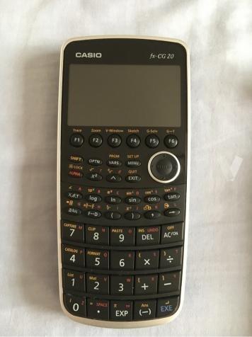 calculadora gr fica casio fx cg20 s 360 00 en mercado libre. Black Bedroom Furniture Sets. Home Design Ideas