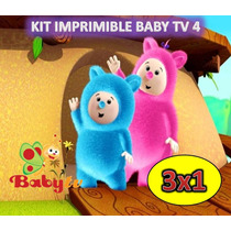 Kit Imprimible Baby Tv 4