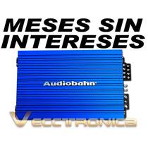 Vecctronica:amplificador Audiobahn De 4 Canales 2400w Es Wow