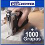 Grapadora Hecha De Metal Para Madera + 1000 Grapas * Tapizar