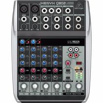 Mesa De Som Q802 Usb Xenyx Behringer Mixer Q 802 Usb