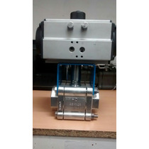 Válvula Worcester 2 Con Actuador Neumatico Inoxidable