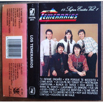 Los Temerarios 15 Super Exitos Vol 1 Cassette Rarisimo 1992