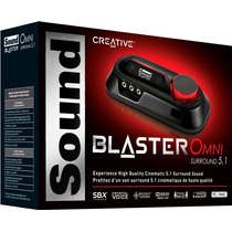 Placa De Sonido Usb Sound Blaster Omni Surround 5.1 Dual Mic