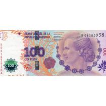 Billete 100 Evita Repo M/b