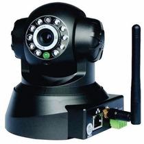 Camera Ip Robô Sem Fio Infra Microfone Acesso Celular