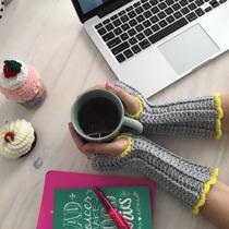 Mitones Tejidos A Crochet (fingerless)