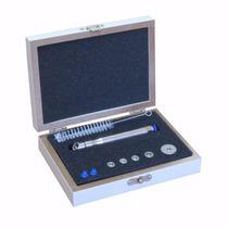 Kit Caneta Peeling Diamante Aço Inoxidável Com 5 Ponteiras