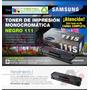 Toner Samsung Negro 111 Mlt-d111s Sl-m2020w 2070w