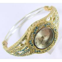 Joyas Turcas: Reloj Turco Original C/ Topacio Zafiro