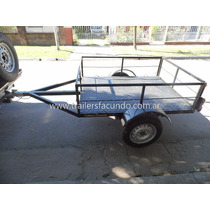Trailer Carga,gral,cuatris,motos Stock Permanente