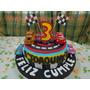 Tortas Decoradas Con Cupcakes!! Pista De Cars!! Y Autos 3d!