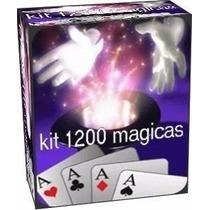 Mágico Profissional Super Kit Megapack Com 1200 Mágicas