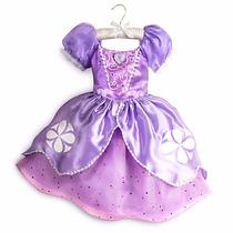 Disfraz Vestido Princesita Sofia Original Disney Store Usa