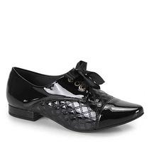Sapato Oxford Feminino Lara - Preto