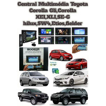 Central Multimédia Toyota Corolla Gli Hilux Fielder Etios