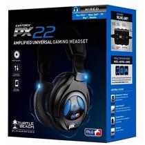Fone Headset Com Fio Turtle Beach Ear Force Px22 Xbox Ps3 Pc