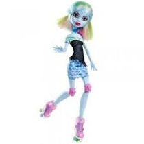 Monster High Abbey Bominable Con Patines Hm4
