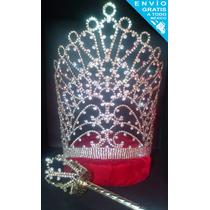 Corona Para Reina Carnaval Certamen Belleza Con Cetro