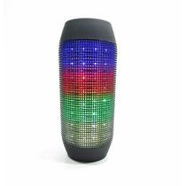 Caixa De Som Similar Jbl Pulse Portátil Bluetooth Led E12