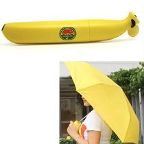 Sombrilla Paraguas En Forma De Banana Platano M0004