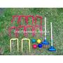 Croquet Total 2 Martillos Juego Croquet Serabot