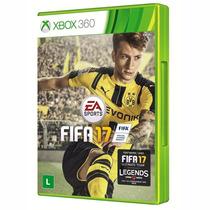 Fifa 17 Xbox 360 Original Narração Em Portugues Midia Fisica