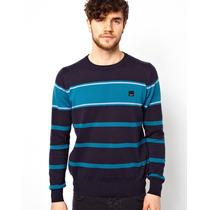 Sweater Poleron Chaleco Algodon Hilo Bench Londres S A 2xl