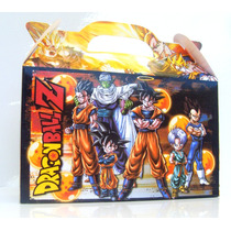 Cajita Bolsita Dragon Ball Z Souvenirs Pack X30