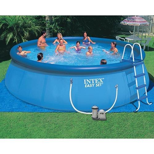 Piscina infl vel redondo intex litros completa - Fotos de piscinas intex ...