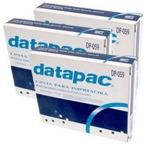 Paq.3 Cintas Datapac Dp-059 Negro Oki Ml 380 390 391 Enteia