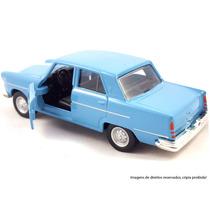 Miniatura Carros Clássicos Nacionais Aero Willys 1965 Br34